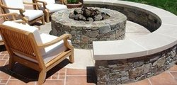 Fire Pit #005 by Amarillo Custom Pools